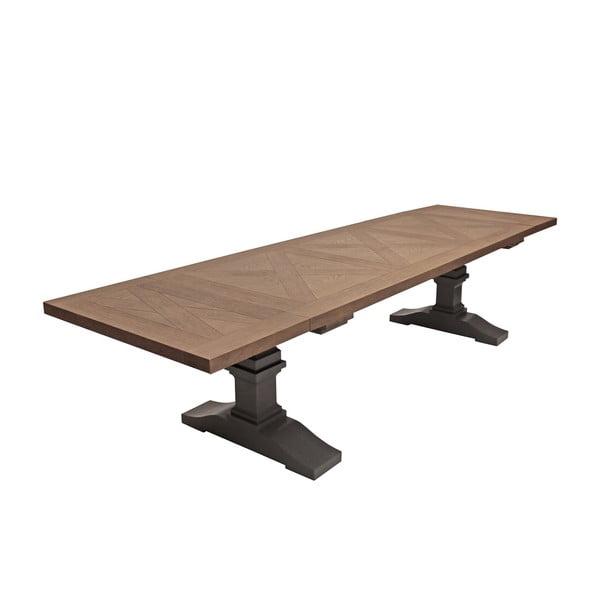 Šedý jídelní stůl Canett Royal, 240 cm
