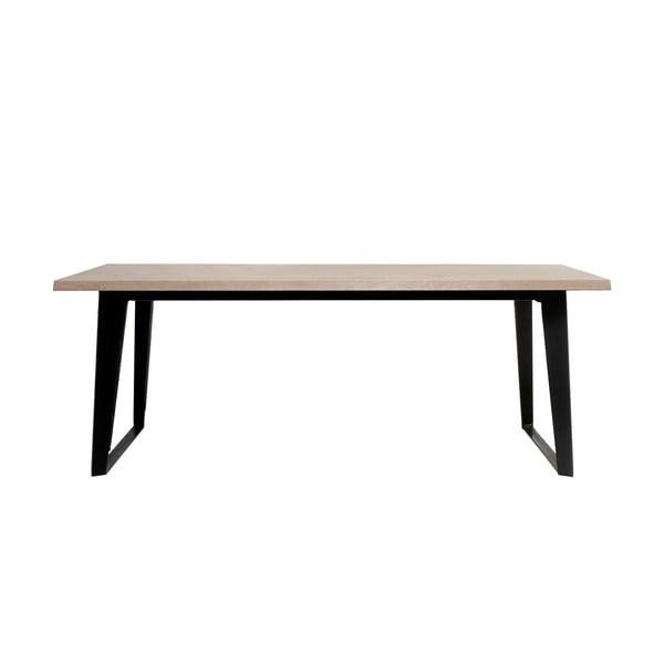 Jídelní stůl ze dřeva bílého dubu Unique Furniture Novara