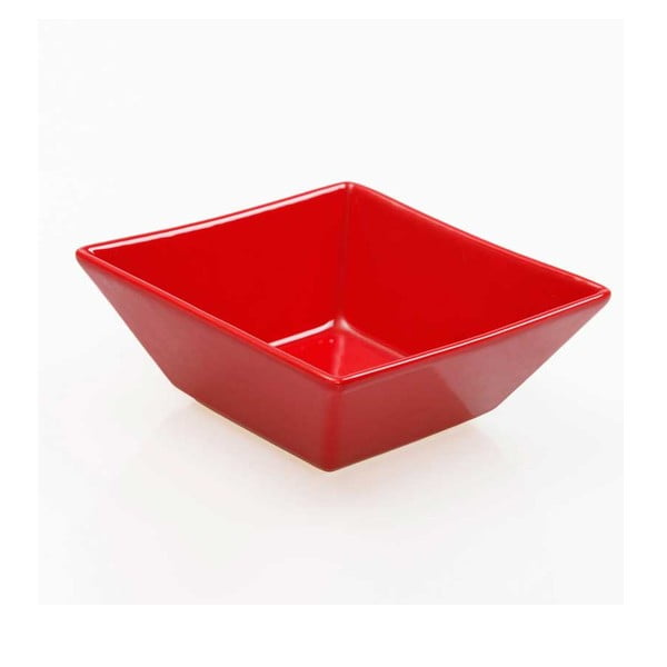 Sada šesti misek 14 cm, červené