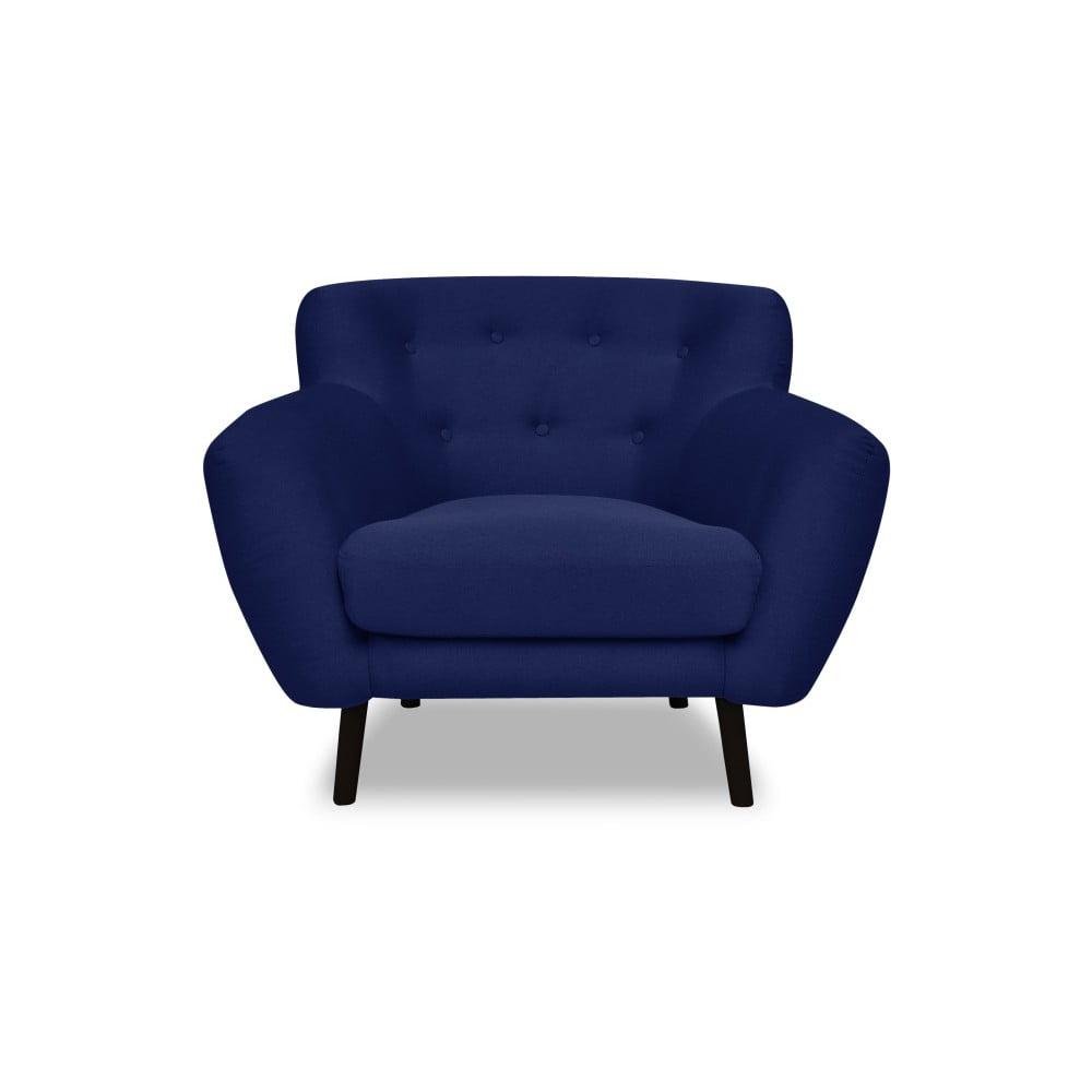 Modré křeslo Cosmopolitan design Hampstead