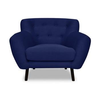 Fotoliu Cosmopolitan design Hampstead, albastru închis