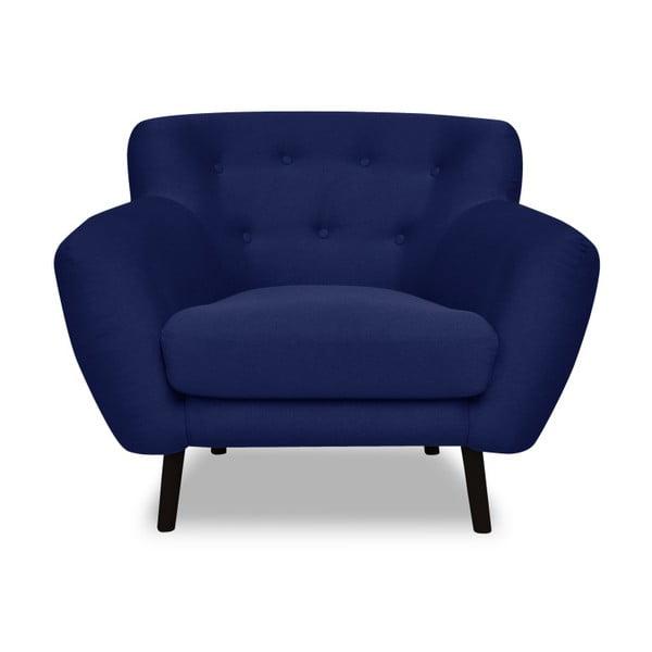 Hampstead kék fotel - Cosmopolitan design