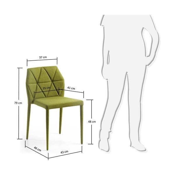 Židle Gravite, zelená