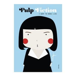 Plakát NiñaSilla Pulp Fiction, 21x42cm