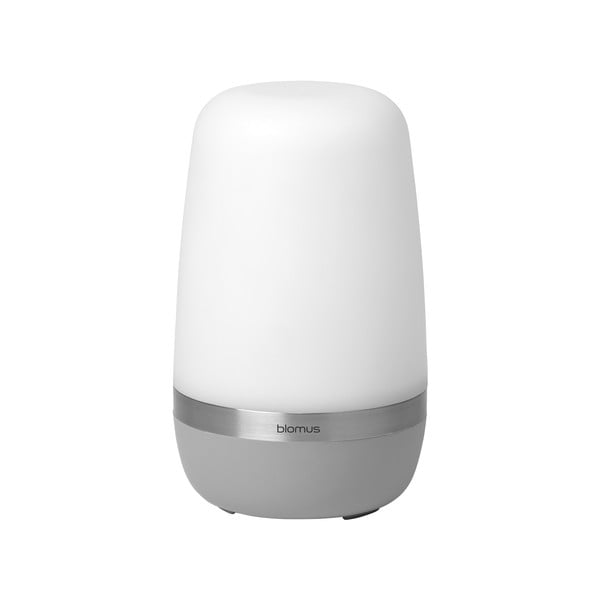 Svetlosivá malá vonkajšia LED lampička Blomus Spirit