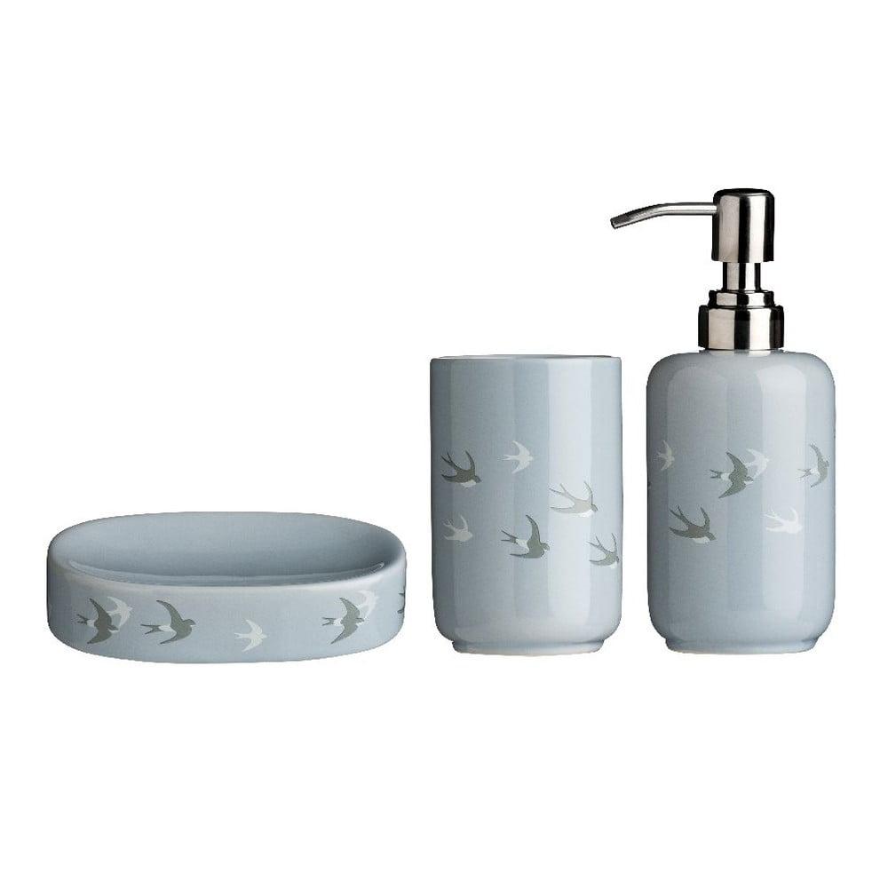 Set 3 koupelnových doplňků z dolomitu Premier Housewares Swift