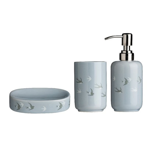Set 3 accesorii baie din dolomită Premier Housewares Swift