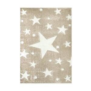 Covor pentru copii Happy Rugs Stars, 160 x 230 cm, bej