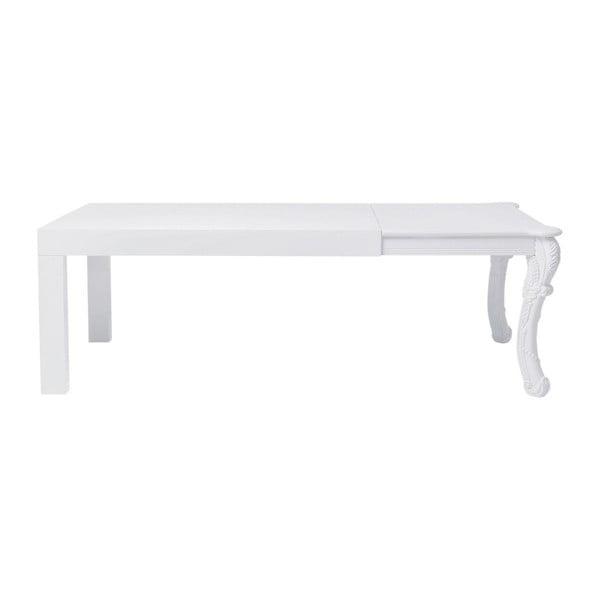 Bílý jídelní stůl Kare Design Janus, 220 x 90 cm