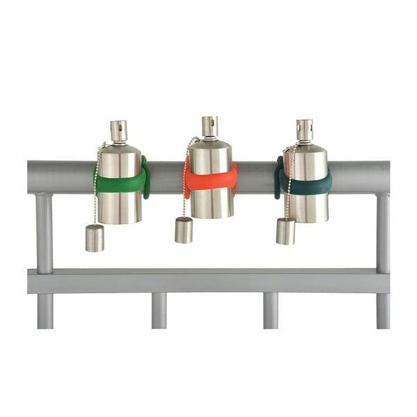Sada 3 olejových lamp na zábradlí Esschert Design Happy