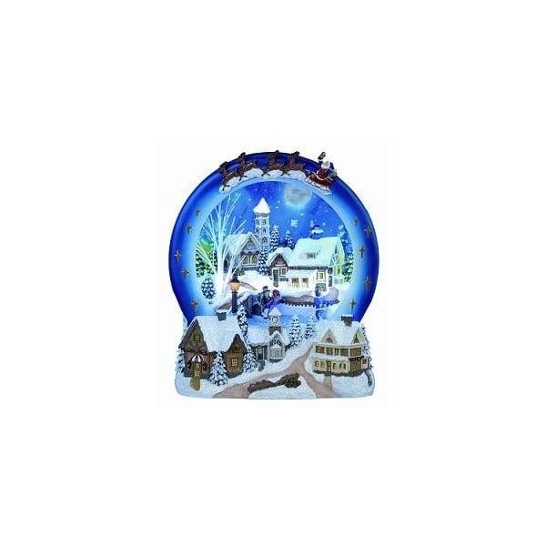 Svítící a hrající dekorace Winter Village