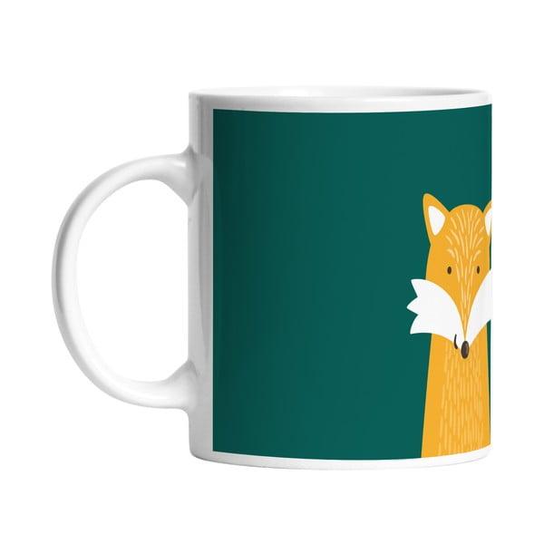 Keramický hrnek Hello Fox, 330 ml