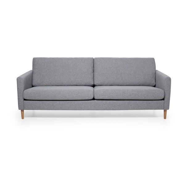 Szara sofa 3-osobowa Softnord Adagio