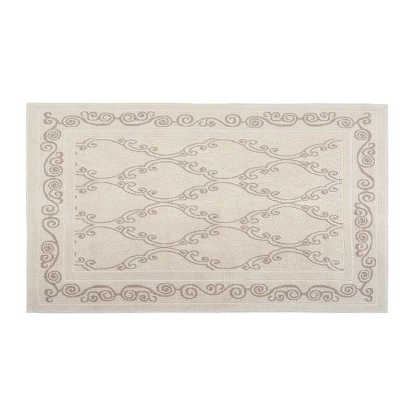 Bavlněný koberec Razi 60x90 cm, krémový