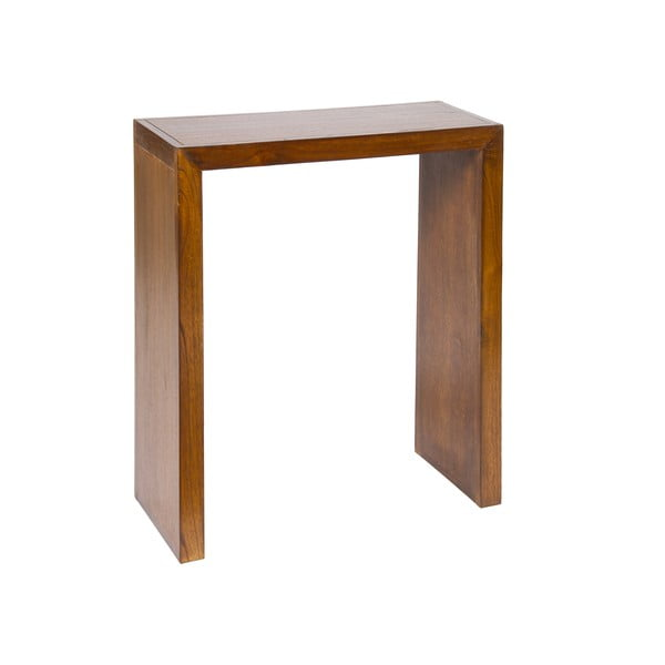 Zrcadlo s konzolovým stolkem ze dřeva mindi Santiago Pons Modern