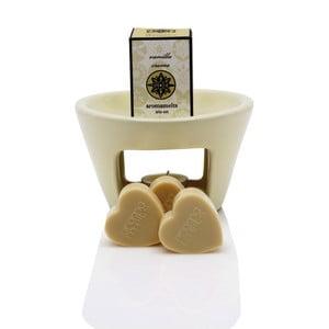 Lampă aromatică cu aromă de vanilie  Aromabotanical Sweet Home, durată de ardere 30 ore