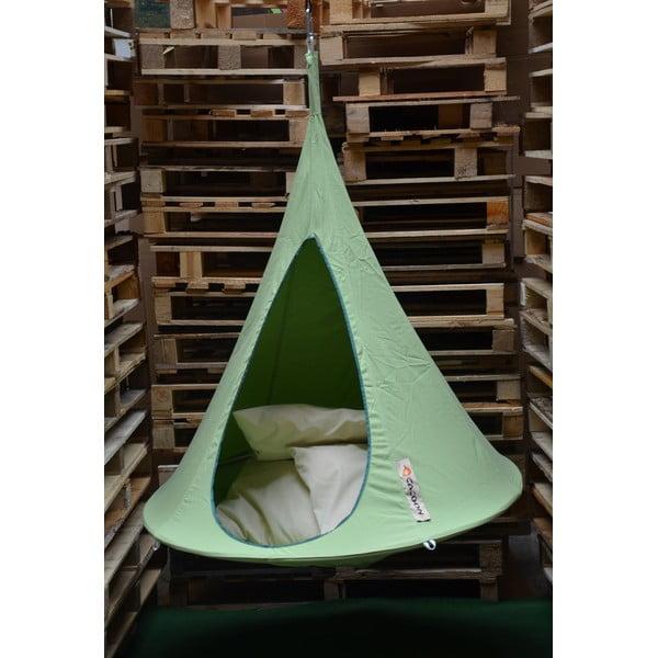 Zelené závěsné křeslo pro děti Cacoon Bonsai