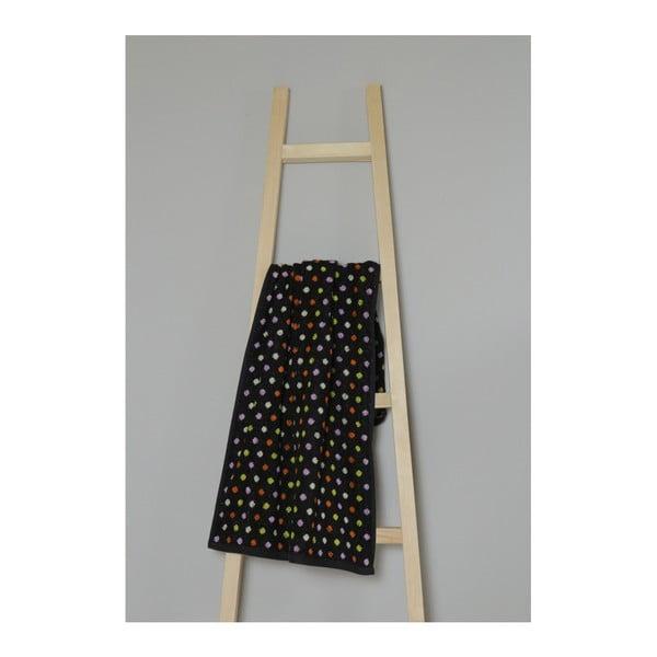 Černý bavlněný ručník My Home Plus Spa, 50 x 100 cm