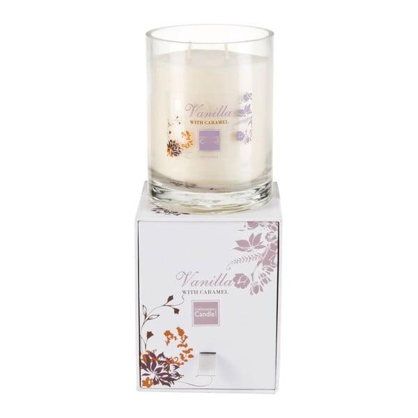 Aroma svíčka Vanilla & Caramel Large, doba hoření 80 hodin