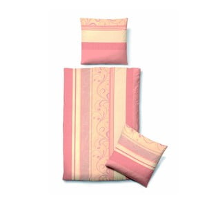 Povlečení Biber Komfort Vintage Pink, 135x200 cm