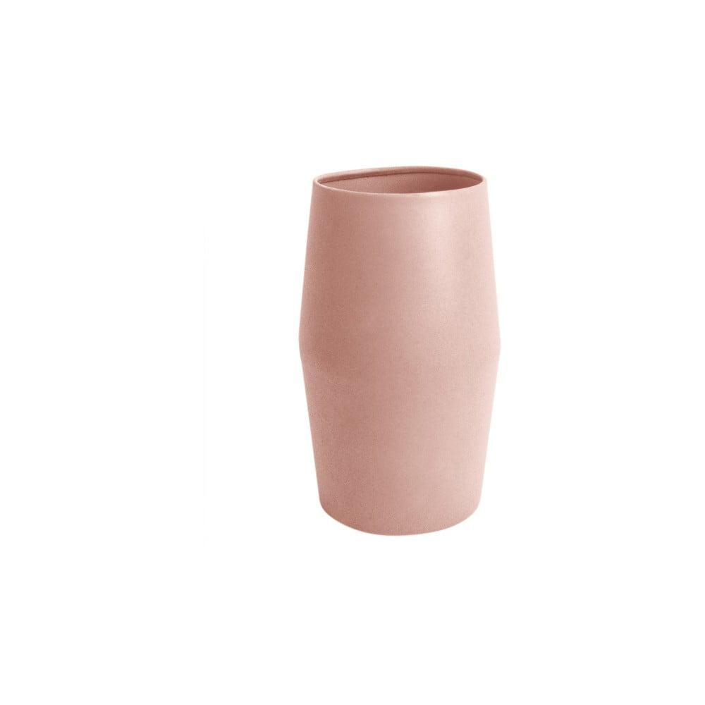 Růžová váza PT LIVING Nimble