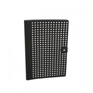 Jurnal B5 Portico Designs Laser, negru