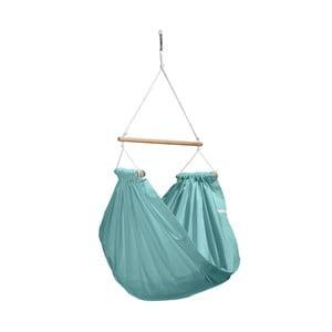 Mentolově zelené houpadlo z bavlny se zavěšením do stropu Hojdavak Junior, 3-10let