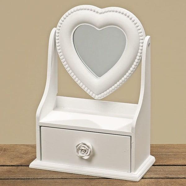 Šperkovnice se zrcátkem Heart