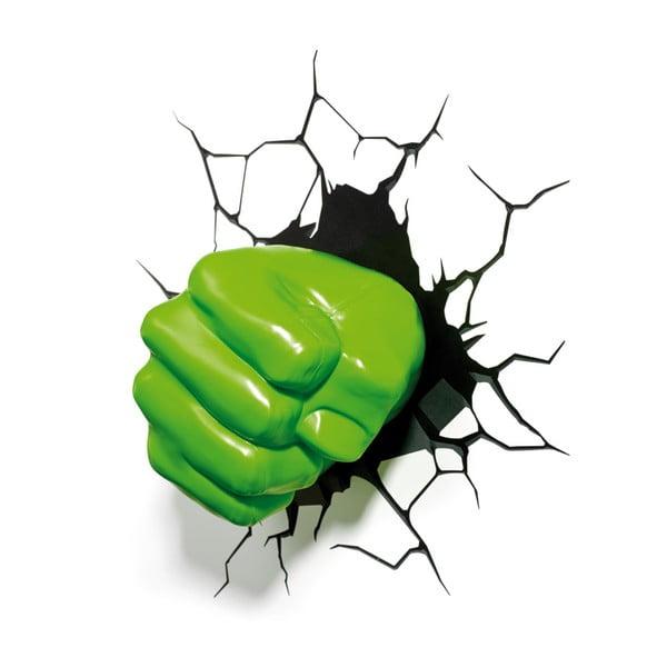 Nástěnné světlo s nálepkou Hulk