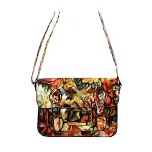 Kabelka Leila Eve Satchel Orange/Red