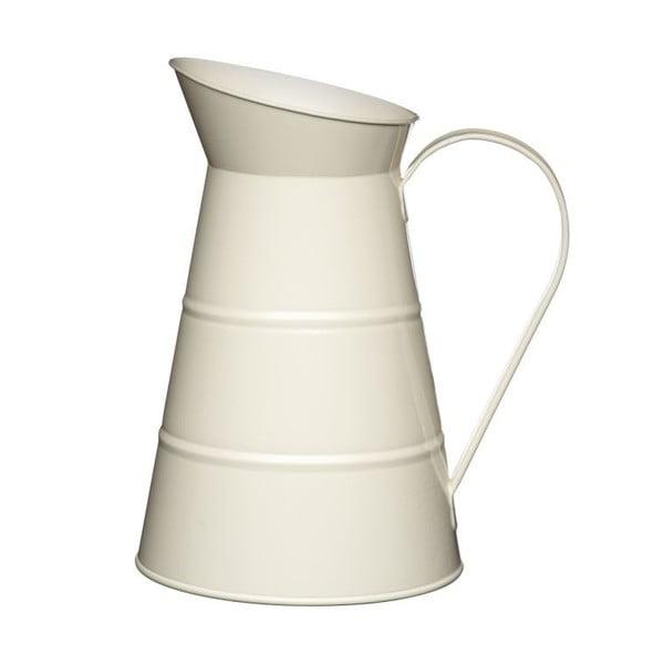 Kremowy dzbanek na wodę Kitchen Craft, 2,3 l