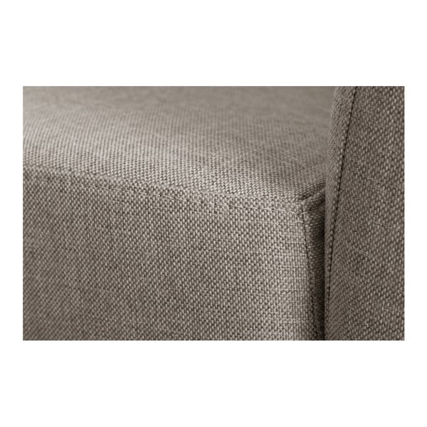 Canapea cu șezlong pe partea dreaptă Florenzzi Viotti, maro