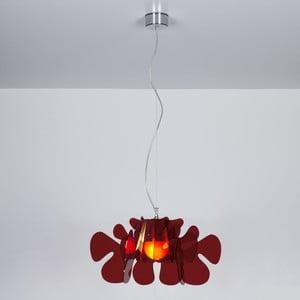 Závěsné svítidlo Aralia Emporium, červené
