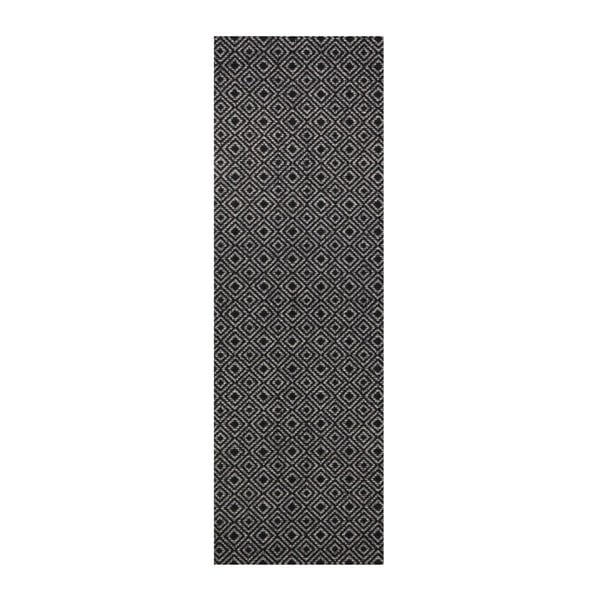 Šedo-černý běhoun Hanse Home Cook & Clean Teresa, 60x180cm