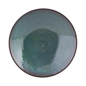 Zelená mísa z terakoty House Doctor Mio, ø 23 cm