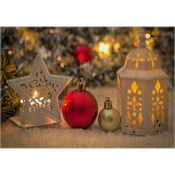 Covor Vitaus Christmas Period Star And Lantern, 50 x 80 cm de la Vitaus