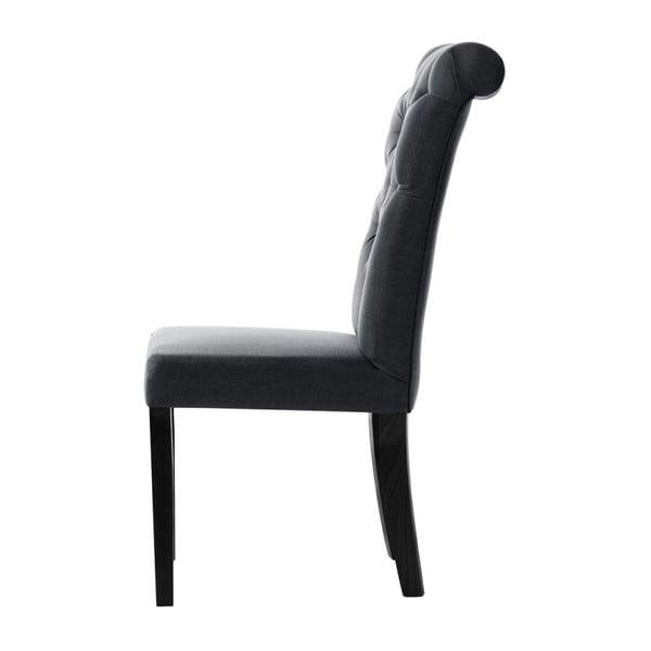 Antracitová židle L'Officiel Taylor