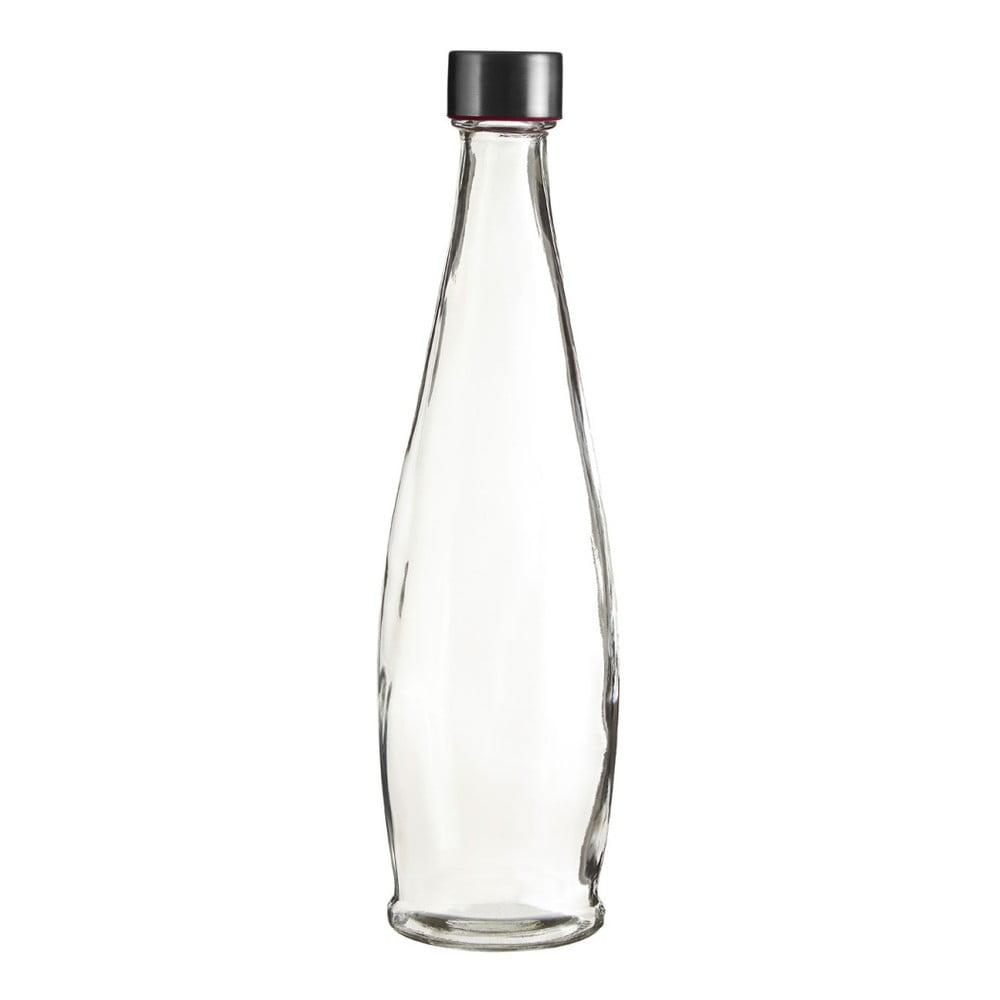 Skleněná lahev Premier Housewares Clear, výška 32 cm