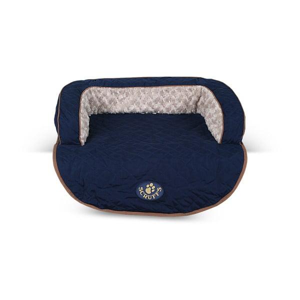 Psí pelíšek Wilton Sofa Bed 65x70 cm, modrý