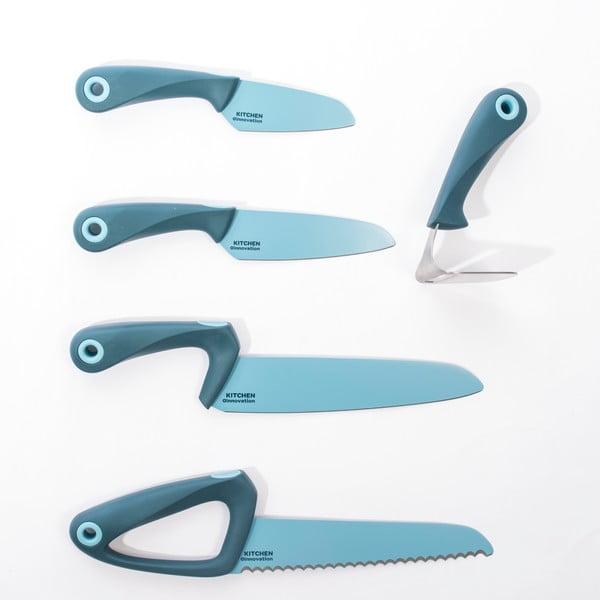 Silikonovo-nerezový nůž Allround