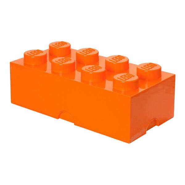 Cutie depozitare LEGO®, portocaliu