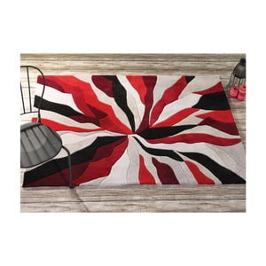 Koberec Splinter Red, 160x220 cm