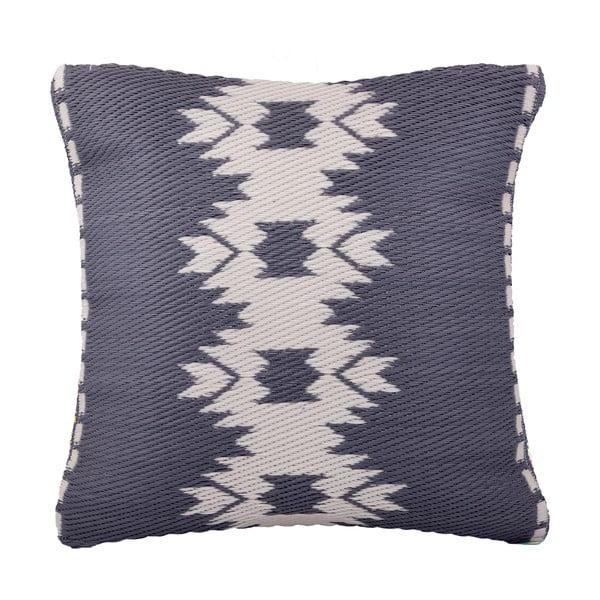 Szara poduszka odpowiednia na zewnątrz Fab Hab Miramar Gray, 51x51 cm