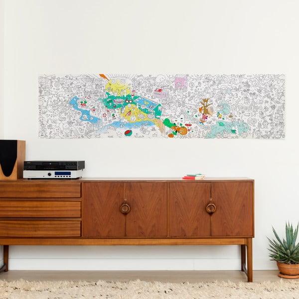 Omalovánka OMY Four Seasons (180 x 50 cm)