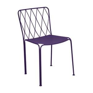 Fialová zahradní židle Fermob Kintbury