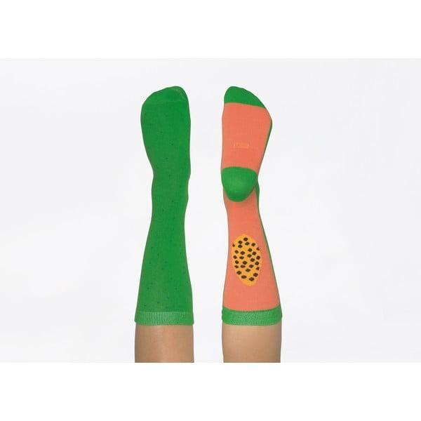 Zielone skarpetki DOIY Papaya, rozm. 37-43
