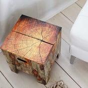 Dutch Design Chair Tree Trunk, mírně poškozený obal