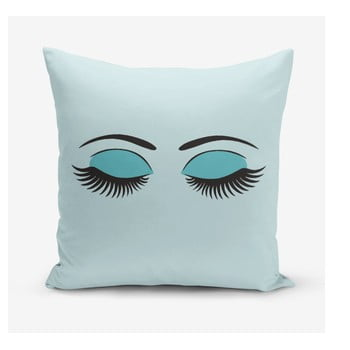 Față de pernă Minimalist Cushion Covers Lash, 45 x 45 cm, albastru imagine