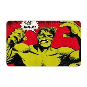Set 2 melaminových prostírání Hulk