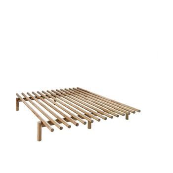 Cadru pat din lemn de pin Karup Design Pace Natural, 140 x 200 cm de la Karup Design